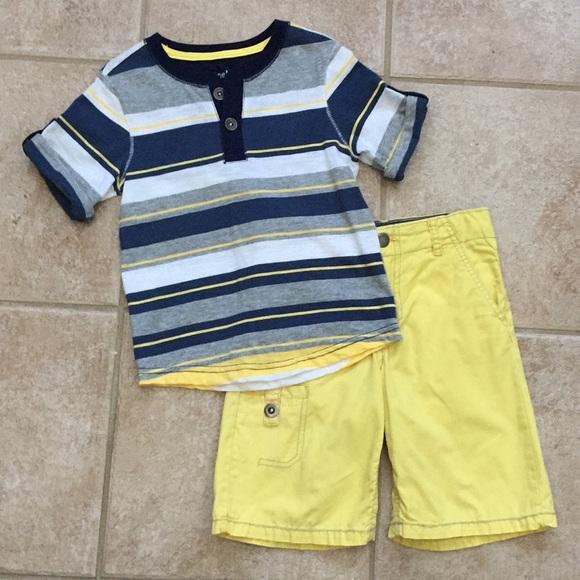 Genuine Kids OshKosh Boy/'s Shorts Size 18M Cotton Colorblock NWT